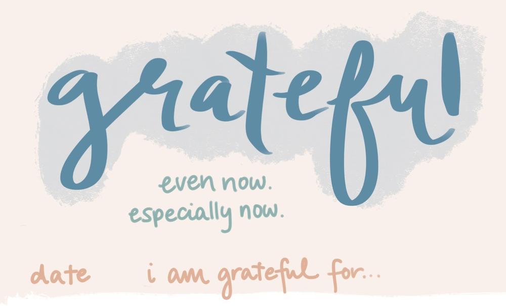 Gratitude: Now More Than Ever